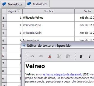 Indexación de campos objeto texto y texto enriquecido 2