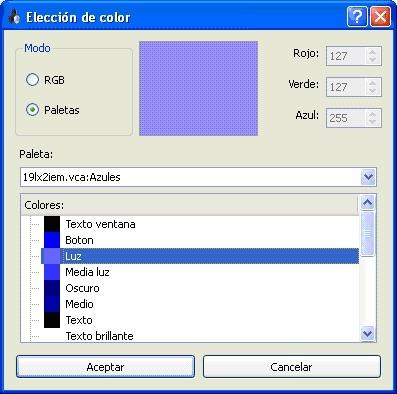 Sacando los colores a v7 4