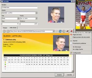 Navegador web integrado en aplicación
