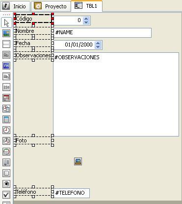 Editor de formularios - Selección multiple - Velneo vDevelop V7