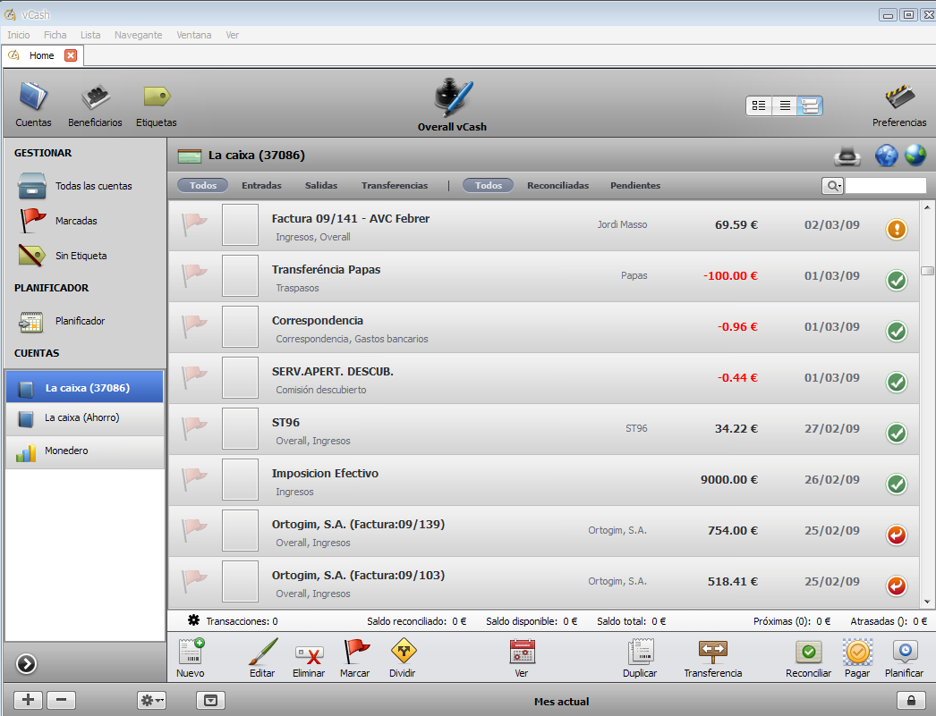 Todas las aplicaciones desarrolladas en Velneo se parecen. 1