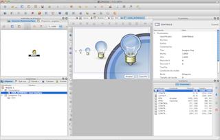 Editor de proyectos con formulario SVG