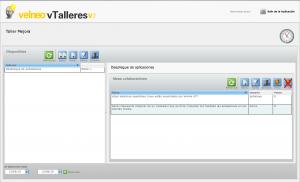 vTalleres - Panel principal