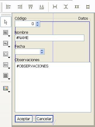 Cambio de tipo de control en el editor de formularios 4