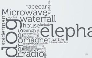 Indices de palabras y trozos de palabras 1