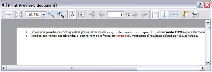 Control HTML con contenido dinámico 4