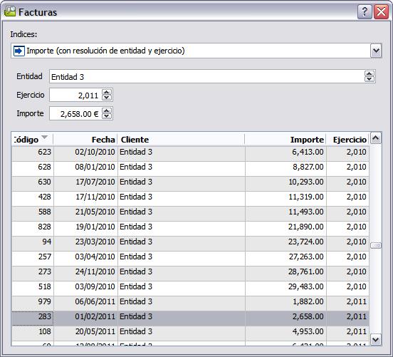 Velneo V7 7.7: Localizador con subindexación dinámica 3