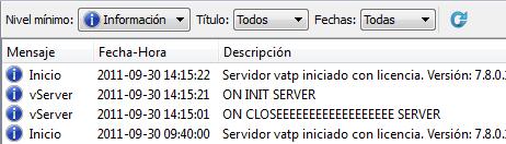 Listado de novedades Velneo V7 7.8.0 52