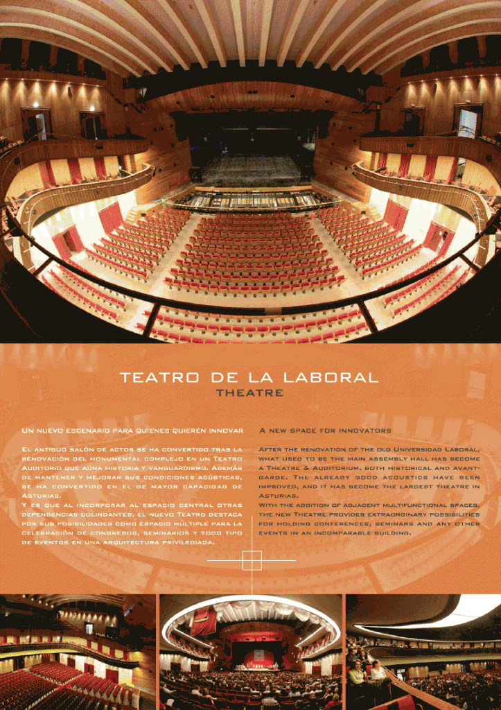 Ltimas plazas en life is soft 2011 velneo for Teatro de la laboral