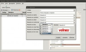Nueva Open App: Tutor de Vista de datos de lista 1
