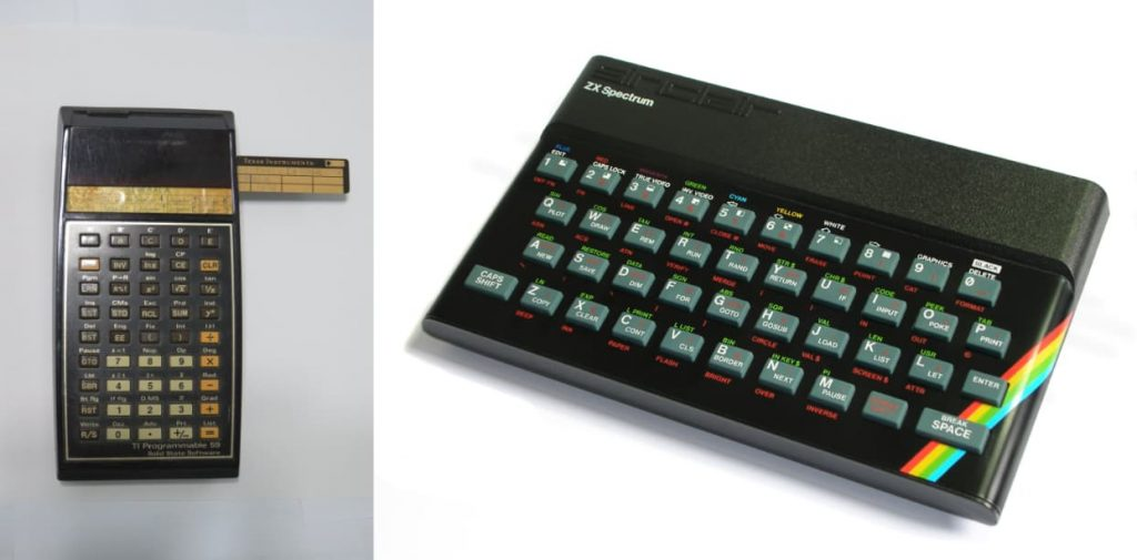 Guía indispensable para ser un buen analista-programador. TI-59 y ZX Spectrum48K