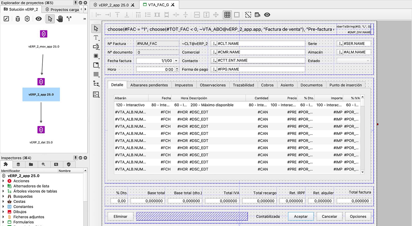Velneo vERP es una plantilla de código abierto altamente personalizable