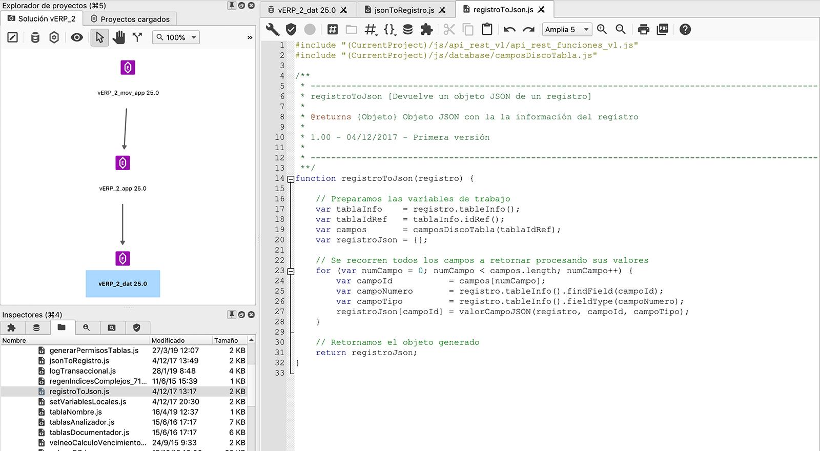 Este código está desarrollado con máxima calidad para que sea homogéneo y fácil de entender