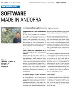 Software para la gestión de las pruebas del COVID-19 en Andorra desarrollado por IDEAN con Velneo 1