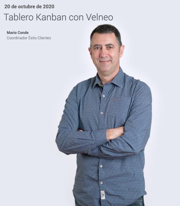 Plan de formación continua. Tablero Kanban con Velneo 1