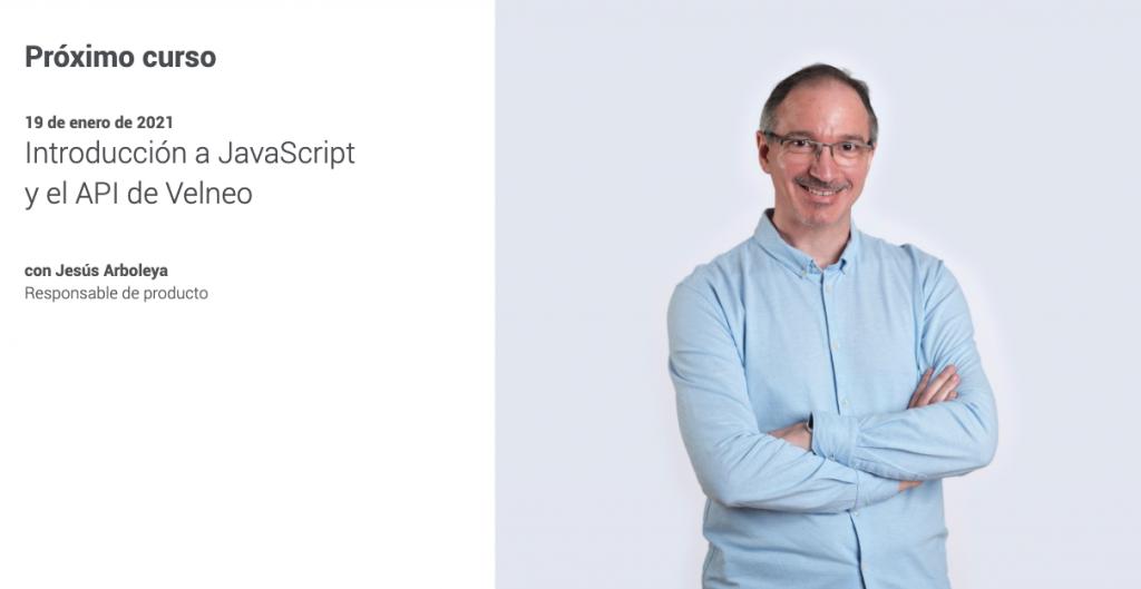 Plan de formación continua. Introducción a JavaScript y API de Velneo 1
