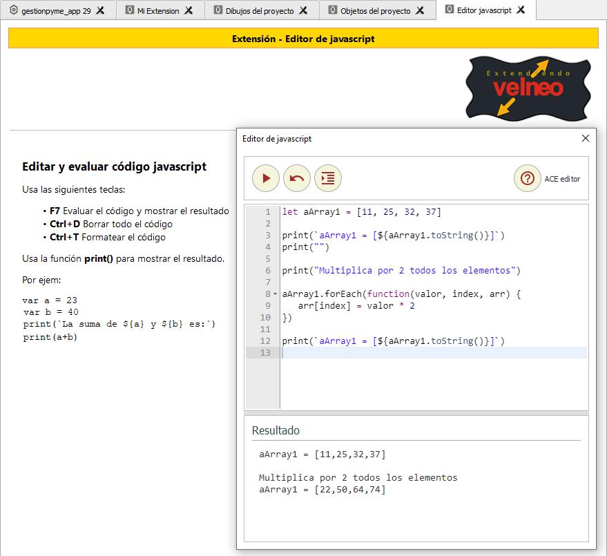 QML al rescate (I) - Extendiendo vDevelop y vClient 9