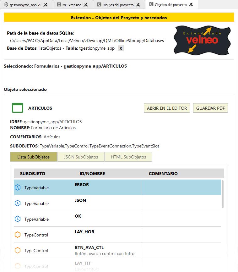 QML al rescate (I) - Extendiendo vDevelop y vClient 7